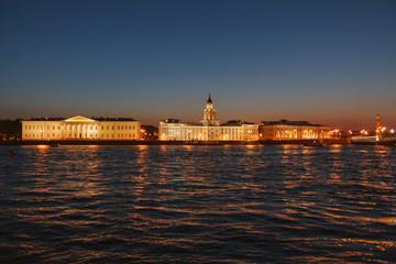 Kunstkamera and Neva river, Saint Petersburg