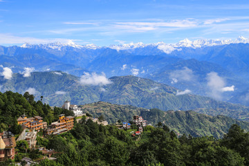 Fotorollo Nepal mt.everest taken in nagarkot, nepal