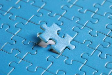 Das letzte Teil im Puzzle Erfolg haben, Teamwork, Ende