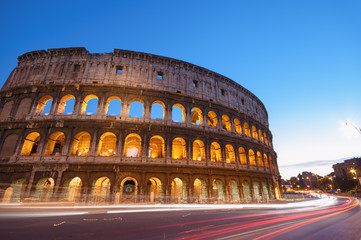 Fototapete - Colosseum in Rome - Italy