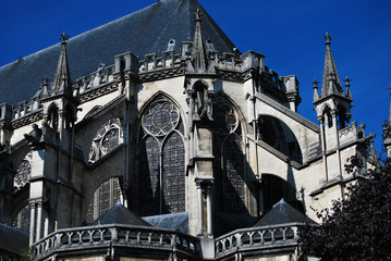 Cathédrale et art gothique