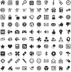 Shadow Iconset black Icons Internet Website Shop