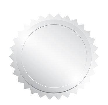 Blank silver token