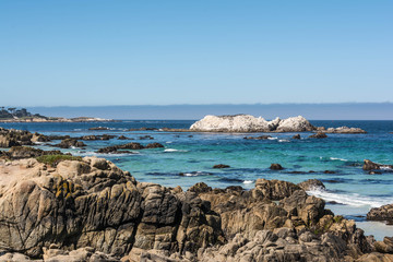 Monterey, the coast