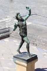Dancing Faun Statue - Pompeii