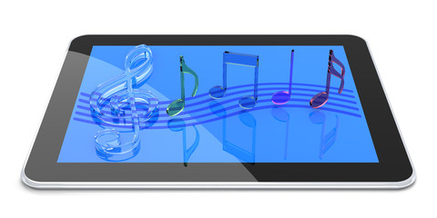 Tablet PC with Digital Sound