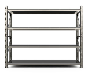 the metal shelf