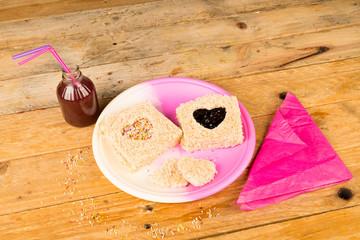 Romantic sandwich