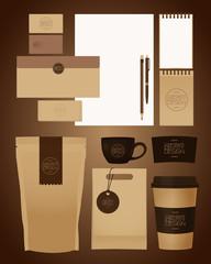 coffee identity design