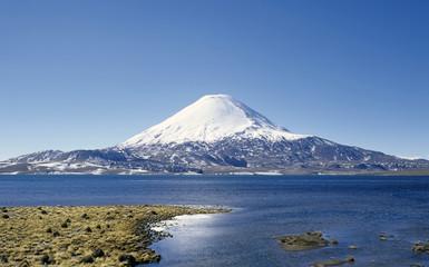 Volcano in Peru