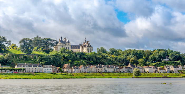 Chateau of Chaumont is located on the river Loire.
