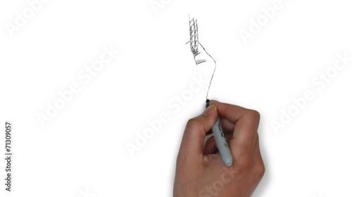 Bondage zeichnung