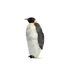 Penguin abstract isolated on a white backgrounds