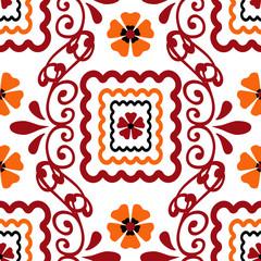 Seamless ornamental pattern decoration elements texture backgrou