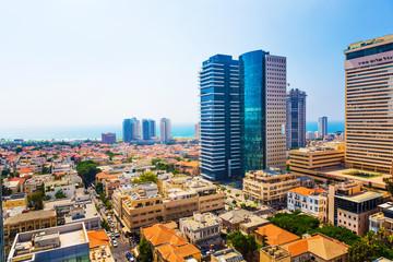 panorama of the city Tel Aviv