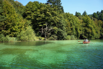 National Park Plitvice lakes in Croatia