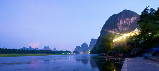 Guilin Yangshuo Sunset