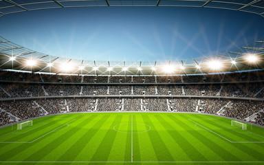Wall Mural - Stadion Seitenlinie neutral
