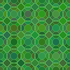 Mosaic geometric seemless pattern