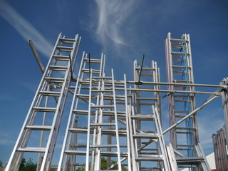 Ladders into sky