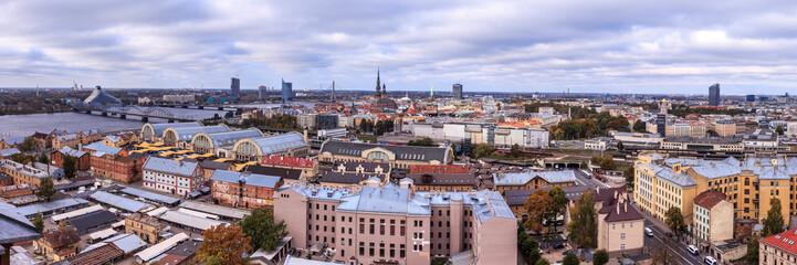Riga panorama view
