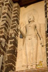 Buddha in Wat Ratchaburana temple, Ayutthaya Historical Park, Ph