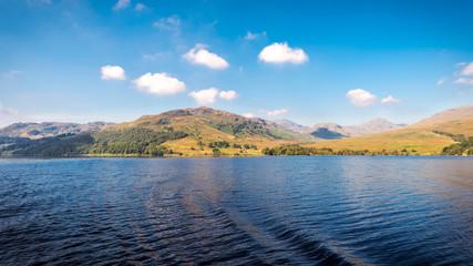Stunning landscape, Loch Katrina, Scottish Highlands, UK