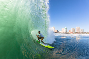 Surfing  Surfer SUP Tube Wave
