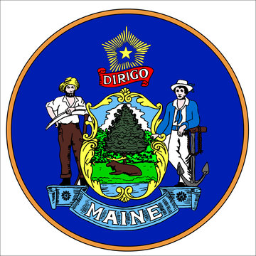 Maine State Seal