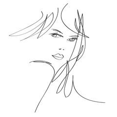 Visage Femme Mode