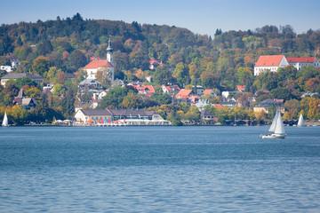 Starnberg at autumn
