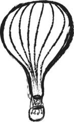 doodle air balloon