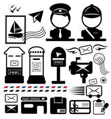 Postman icon set.