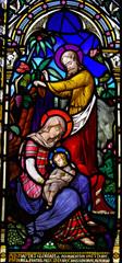 Fototapete - The birth of Jesus: the Nativity