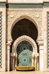 Arabischer Brunnen Casablanca Marokko