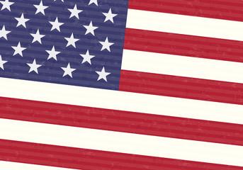 USA America Flag Concept