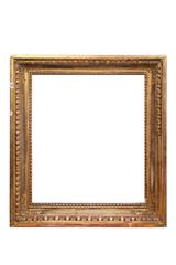 vintage carved golden frame