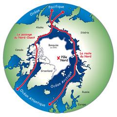 Pôles - Passages au Nord