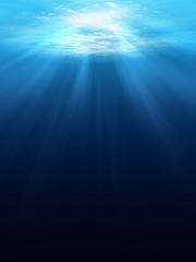 Underwater scene background