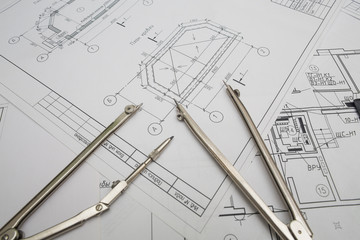 Drawings with the measuring instrument