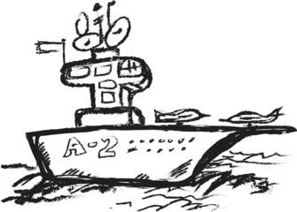 doodle Navy Aircraft Carrier