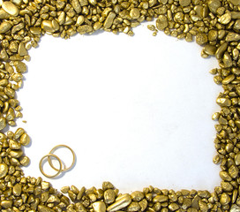 Wedding Gold frame