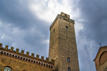 Main tower of San Gimignano