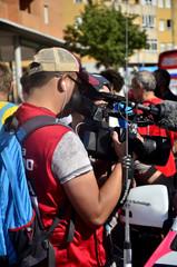 Reportero de prensa