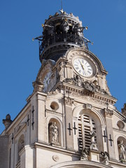 Beffroi de l'Eglise Sainte-Croix, Nantes