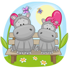 Lovers Hippos