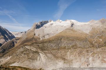 Bettmeralp, Dorf, Walliser Alpen, Fusshörner, Aletsch, Schweiz