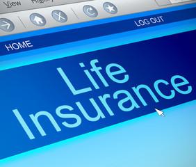 Life insurance concept.