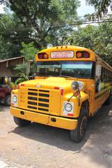 Public bus to Copan Ruinas, Honduras,  famous Mayan site