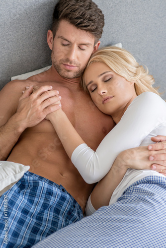 Sexy and romantic couple